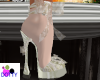 pearl white bride shoes