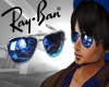 cc rayban Blue  glases