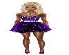 Starry Night Mini Gown