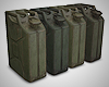 4 Jerry Cans - Gas Cans