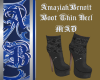 ~MAD~ Boot Thin Heel