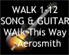 Walk This Way + guitar