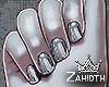 Chrome Short Nails