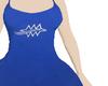 RL blue dress