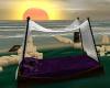 ~TQ~Purple canopy bed