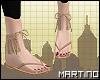 ɱ. Frilly Sandals
