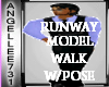 Male Model RUNWAY  Walk