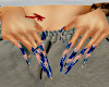 butterfly nails xl