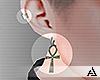 𝒜. Yin Earrings