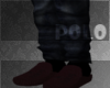 -Red pol0 Slippers-