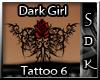 #SDK# Dark Girl Tattoo 6