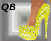 Q~Yellow Spiked Platform