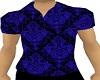 [V2] Black Blue Shirt
