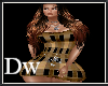 brown plaid dress