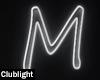 Letter M | Neon