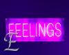 -E- Feelings Sign Glow