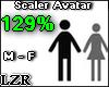 Scaler Avatar M - F 129%