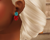Ruby Sapphire Earrings