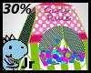 30% Girls rule ballpit