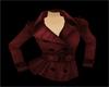 Cranberry Peacoat Jacket
