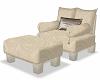 white relax chair