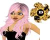 Pinky Hair Black tones
