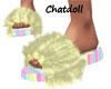 C)Pastels! Slippers nosk