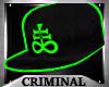 M| Satan Green Cap