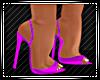 Maria Gown Plum Heels