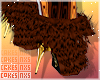Fur Booties -CoCo