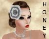 *h* 20's Headband Grey