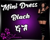 Dress mini Black GA