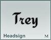 Headsign Trey