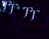 TT 10K credit Sticker