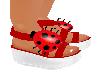 LadyBug Sandles