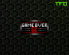 FC; Game Over Badge