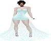 [Mz] Teal Pearl Gown