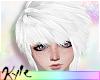 Emo Hair | White
