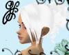 GF-Snow Bride Hair Style