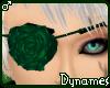 *Dy} Teal Rose Eyepatch