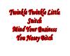 Twinkle Twinkle Little..