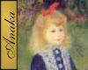 Renoir Girl Painting