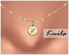 |K Tiny Necklace Z