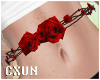 Cute Red Rose Belt