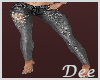 Dk Gray Butterfly Jeans