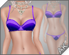 ~AK~ Retro Swim: Purple