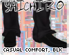 Casual Comfort, Black