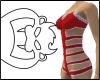 Red Mystic Bodysuit