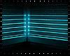 Ice Blue Neon Room