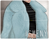 [Is] Fur Coat SkyBlue